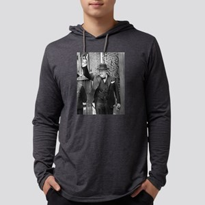 winston churchill Mens Hooded Shirt