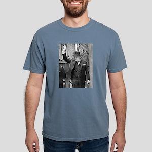 winston churchill Mens Comfort Colors Shirt
