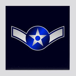 Air Force Airman Tile Coaster