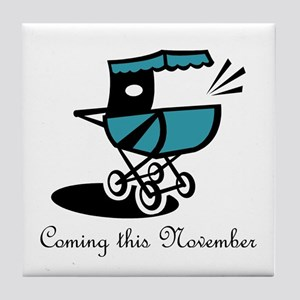 Coming This November Tile Coaster