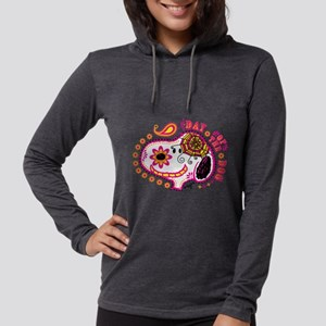 Day of the Dog Snoopy Face Lig Womens Hooded Shirt