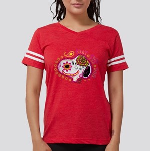 Day of the Dog Snoopy Face L Womens Football Shirt