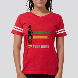 Mighty Incredible Invincible Womens Football Shirt