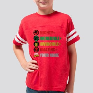 Mighty Incredible Invincible  Youth Football Shirt