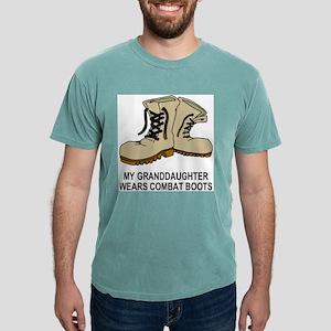Combat-Boots-My-Granddau Mens Comfort Colors Shirt