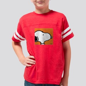 orangeSnoopyPW Youth Football Shirt