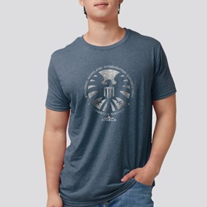 Marvels Agents of S.H.I.E.L Mens Tri-blend T-Shirt