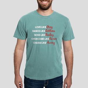 Like Grey Characters Mens Comfort Colors Shirt