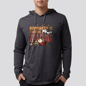 Peanuts Fall Mens Hooded Shirt