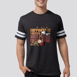 Peanuts Fall Mens Football Shirt