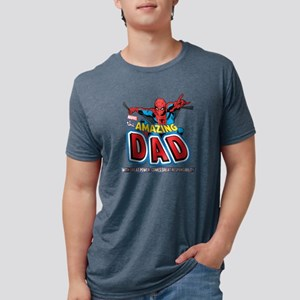 AmazingDad Mens Tri-blend T-Shirt