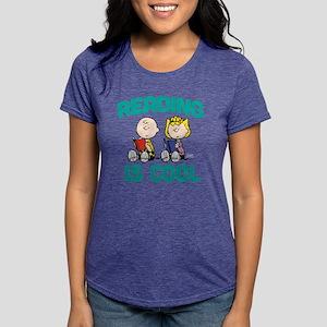 Charlie & Sally Brown-Rea Womens Tri-blend T-Shirt