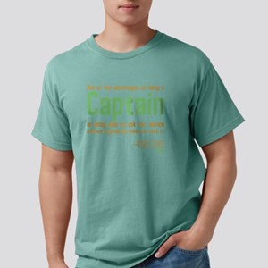 Captain Kirk Quote Mens Comfort Colors Shirt
