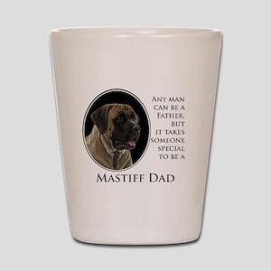 Mastiff Dad Shot Glass