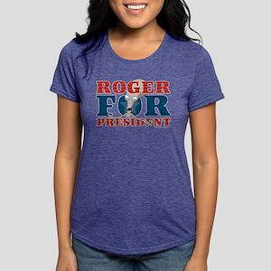 Roger for President Dark Womens Tri-blend T-Shirt