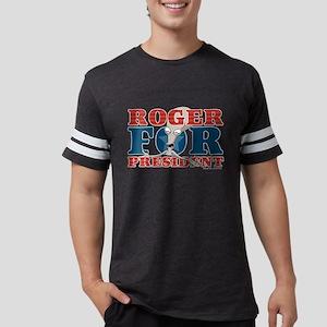 Roger for President Dark Mens Football Shirt