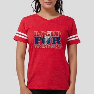 Roger for President Dark Womens Football Shirt