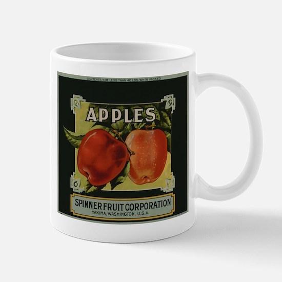 Vintage Fruit Vegetable Crate Label Mugs