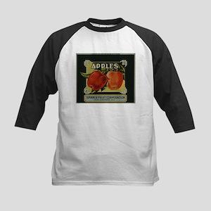 Vintage Fruit Vegetable Crate Label Baseball Jerse