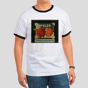 Vintage Fruit Vegetable Crate Label T-Shirt