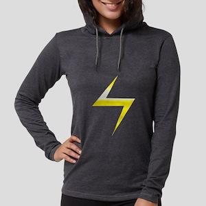 Ms. Marvel Symbol Womens Hooded Shirt