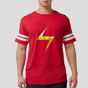 Ms. Marvel Symbol Mens Football Shirt