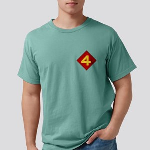 4th Marine Division Mens Comfort Colors Shirt
