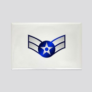 Air Force Airman First Class Rectangle Magnet