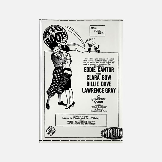 Clara Bow Eddie Cantor Kid Boots Rectangle Magnet