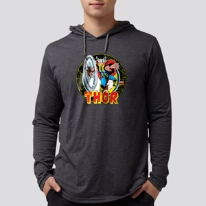 Thor Hammer Mens Hooded Shirt