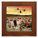 Angel 259 : Framed Tile