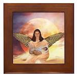 Angel #210 : Framed Tile
