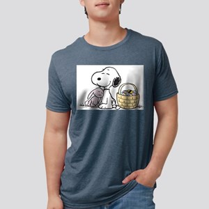 Snoopy Mens Tri-blend T-Shirt