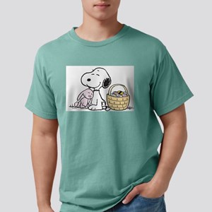 Snoopy Mens Comfort Colors Shirt