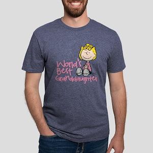 WorldsBestGranddaughter Mens Tri-blend T-Shirt