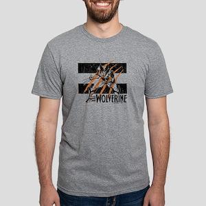 Wolverine Scratch Mens Tri-blend T-Shirt