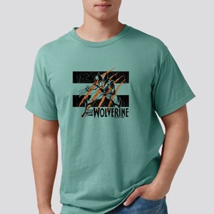 Wolverine Scratch Mens Comfort Colors Shirt