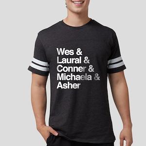 HTGAWM Character Names Mens Football Shirt