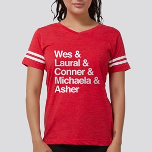HTGAWM Character Names Womens Football Shirt