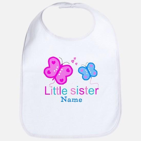 Little Sister Butterfly Bib