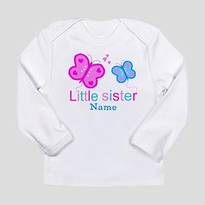 Little Sister Butterfly Long Sleeve T-Shirt