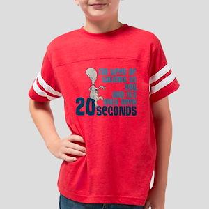 American Dad 20 Seconds Dark Youth Football Shirt