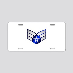 Air Force Senior Airman Aluminum License Plate