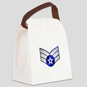 Air Force Senior Airman Canvas Lunch Bag