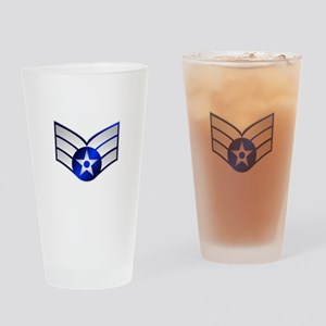 Air Force Senior Airman Drinking Glass