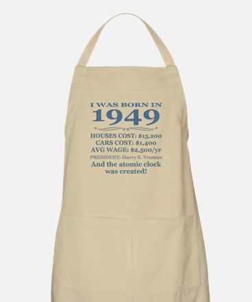 Birthday Facts-1949 Apron