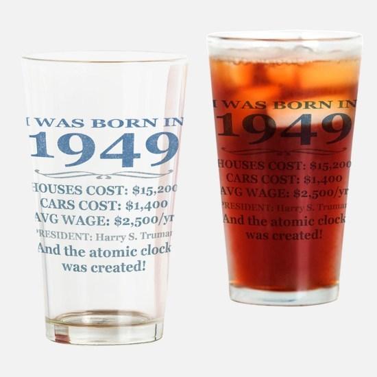 Birthday Facts-1949 Drinking Glass