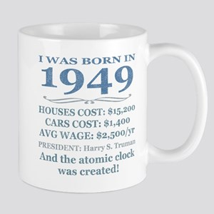Birthday Facts-1949 Mugs