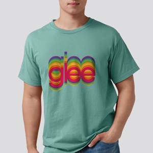 Glee Colorful Logo Light Mens Comfort Colors Shirt