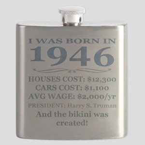 Birthday Facts-1946 Flask